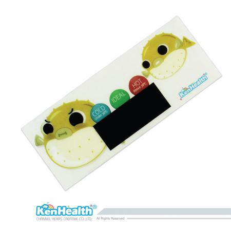 Bath Thermometer Sticker (Pufferfish)