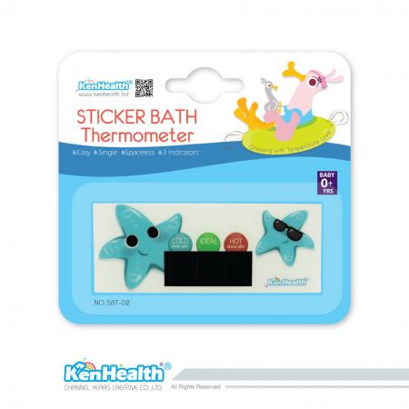 Bath Thermometer Sticker