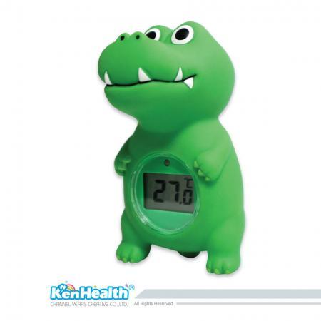 Thermomètre de bain bébé crocodile - L'excellent outil de thermomètre pour préparer la bonne température du bain, apporter un bain sûr et amusant pour les bébés.