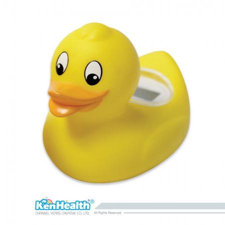 Thermomètre de bain pour bébé caneton - L'excellent outil de thermomètre pour préparer la bonne température de bain, apporte un plaisir de bain sûr et pour les bébés.