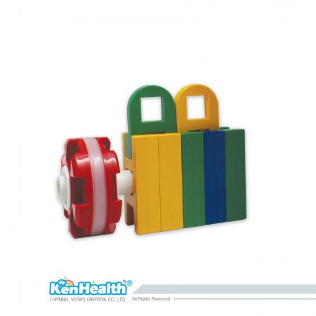Bricks for Kids Colorcubes - Colorful and Safe Color Cubes
