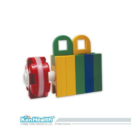 Bricks for Kids Colorcubes - Cubes de couleur colorés et sûrs