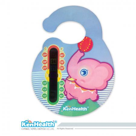 Thermometer Sticker & Card