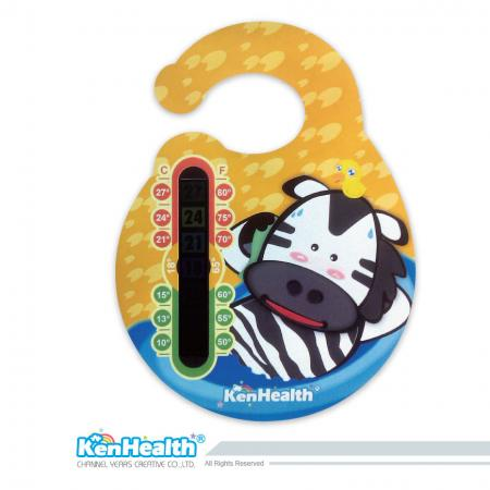 Door Thermometer - Quickly read temperature for a comfortable environment.