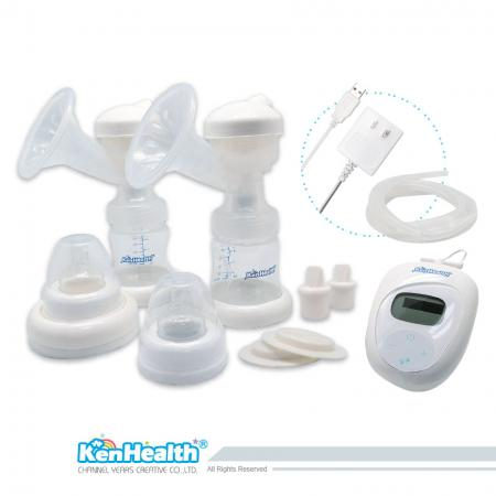 Dual-Feed Breast Pump - Help mom collect breast milk to feed baby.
