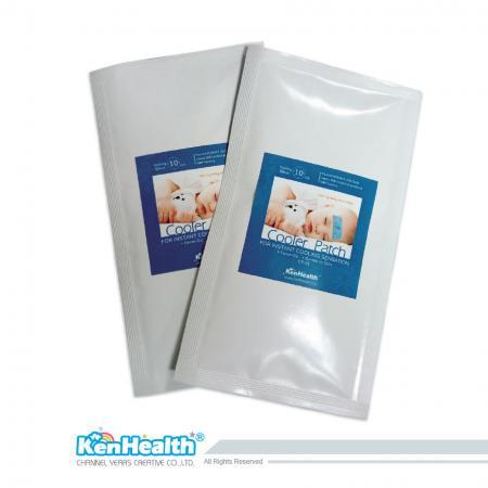Fever Cooler Taille Adulte - Remplacez l'oreiller de glace et la serviette pour faire baisser la fièvre.