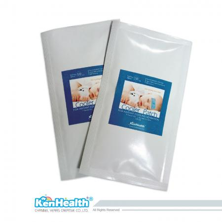Fever Cooler Adult Size - Replace the ice pillow and the towel to bring down the fever.