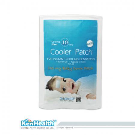 Fever Cooler Taille Bébé - Remplacez l'oreiller de glace et la serviette pour faire baisser la fièvre.