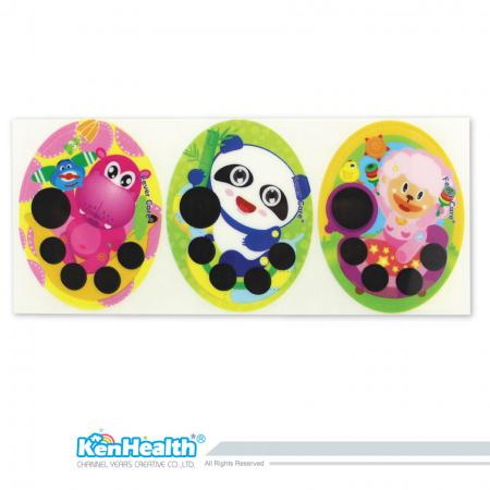 Forehead Thermometer Strip (Hippo / Panda / Sheep)