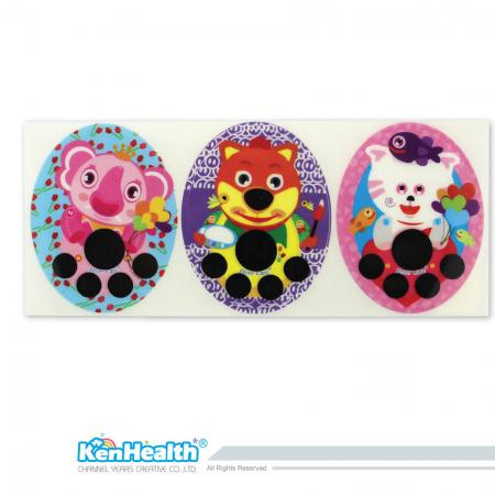 Forehead Thermometer Strip (Elephant / Dog / Cat)