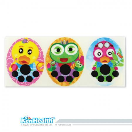 Forehead Thermometer Strip (Duck / Frog / Bird)