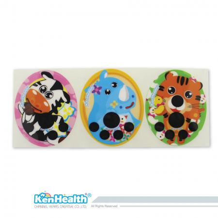 Forehead Thermometer Strip Fahrenheit (Zebra / Rhino / Tiger)
