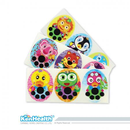 Fever Patch Sticker - The forehead temperature strip for forehead temperature measurement.