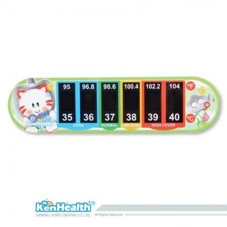 Forehead Thermometer Strip (Cat)