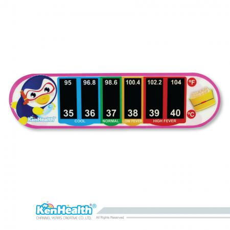 Forehead Thermometer Strip (Penguin)