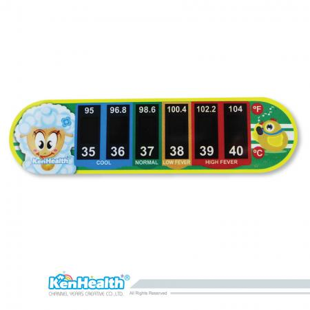 Forehead Thermometer Strip (Lawn)