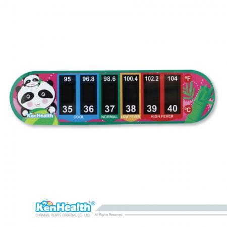 Forehead Thermometer Strip (Panda)