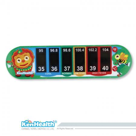 Forehead Thermometer Strip (Lion)
