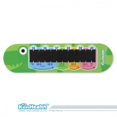Forehead Thermometer Strip (Crocodile)