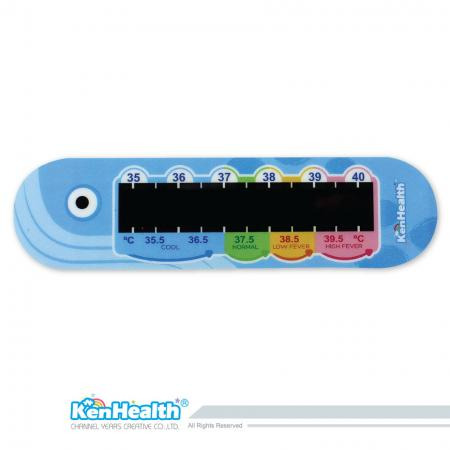 Forehead Thermometer Strip (Whale)