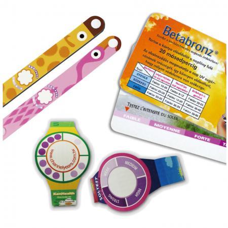 Montre et carte de capteur UV - Détectez l'intensité des UV pour réduire le risque de coup de soleil.