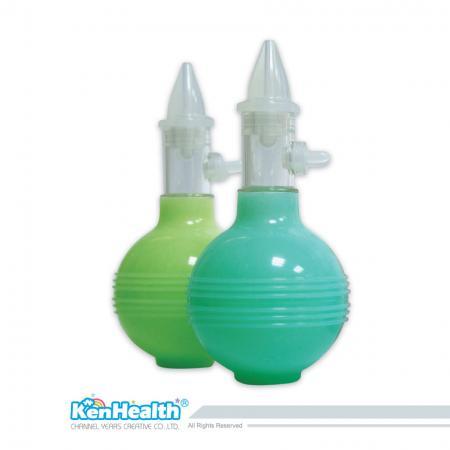 Aspirateur nasal style Beatle - Conception anti-refoulement, petite taille et facile à transporter.