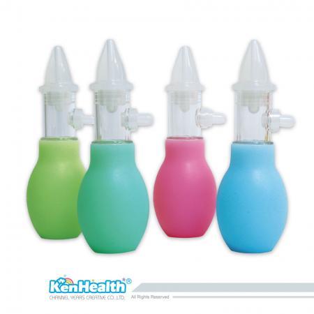 Aspirateur nasal style cricket - Conception anti-refoulement, petite taille et facile à transporter.