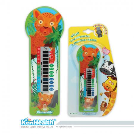 Room Thermometer Safari - Quickly read temperature for a comfortable environment.