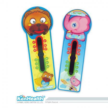 Thermomètre d'ambiance Zoo - Lecture rapide de la température pour un environnement confortable.