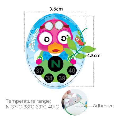 Plage de température TN-14-N-37°C-38°C-39°C-40°C