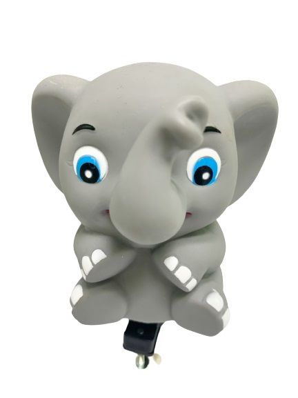 Bike Horns-Elephant - It can make a sound with a slight pinch on the animal-shaped horn