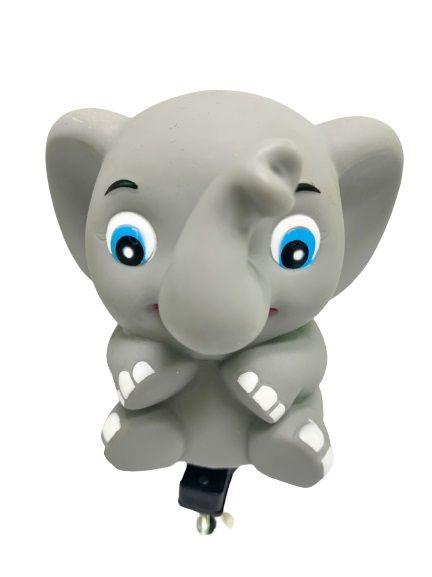 Vélo Horns-Elephant - Il peut émettre un son avec un léger pincement sur la corne en forme d'animal