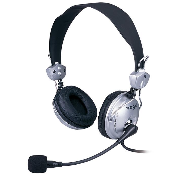 Tai nghe USB cho Skype Chat và Call Center - Tai nghe USB AM-840MU.