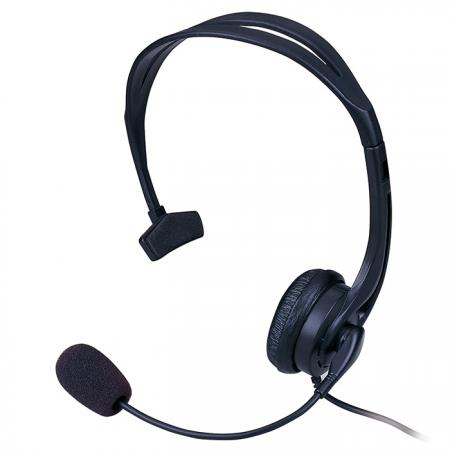 Lightweight Single Sided Headset for Home Use & Call Centers - Single Sided Headset AM-530MS.