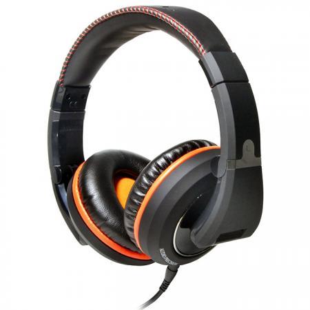 50mm大口徑單體HI-FI全罩式耳機 - 密閉式Hi Fi可折式耳機CD-2100。