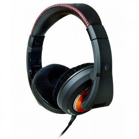 全罩式HI-FI耳機 50mm大口徑單體 - 密閉式Hi Fi可折疊耳機。