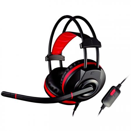 Stereo Headset with 40mm Drivers and Omni-Directional Microphone