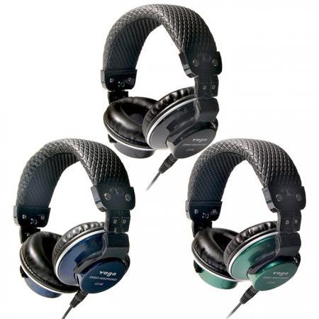 耳罩式摺疊耳機,低音強化 - 耳罩式DJ耳機。