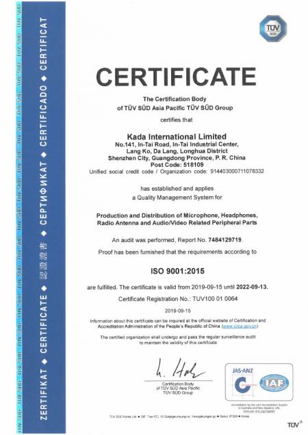 2015-ISO-9001 Certificate