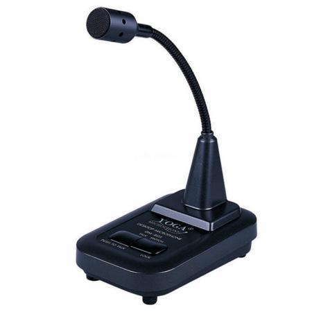 Dynamic Desktop Gooseneck Microphone for PA & Broadcasting - Paging desktop gooseneck microphone.