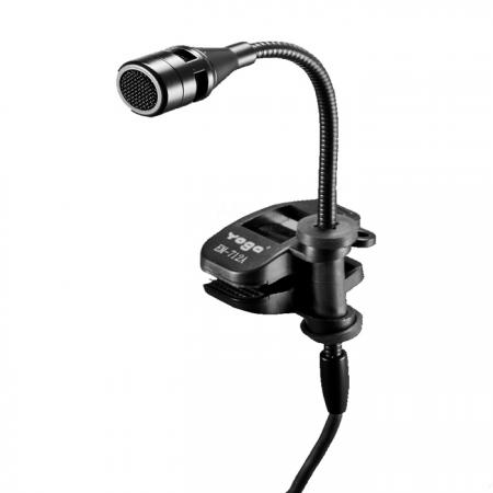 Condenser Microphone for Wind and Brass Instruments. Phantom Powered