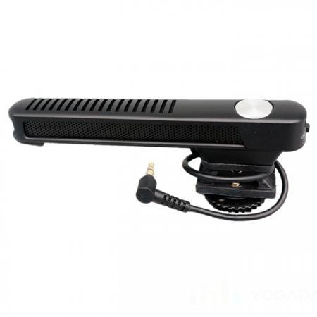 DSLR攝影用電容式槍型麥克風 - 高感度的電容式槍型麥克風。