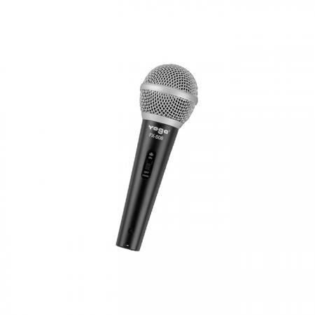 Dynamic Vocal Hand-Held Microphone for Live Performances or Broadcasts - Hand Held Dynamic Microphone.