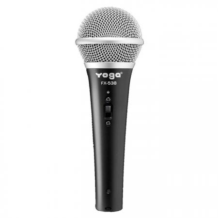 Dynamic Handheld Vocal Microphone with On-Off Switch - Dynamic Vocal Microphone.