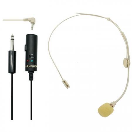 Tie-Clip Microphones - Tie-Clip Microphones W / USB Power Adapter.