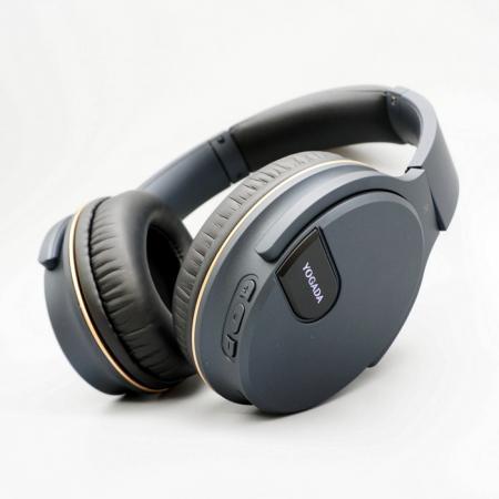 耳罩式2.4G可收摺無線耳機 - 摺疊式2.4G無線耳機,內建麥克風。