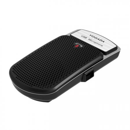 Surface-mount USB Microphone with MIC Mute Button, for Live Chat or Con-Calls - USB Microphone JCT-101U.