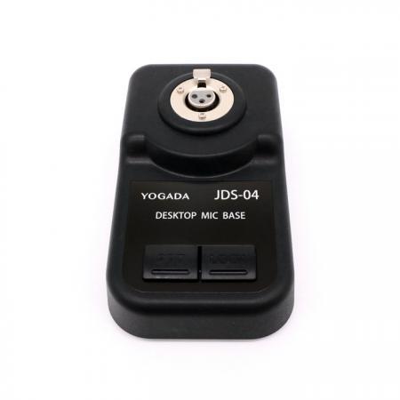 動圈式軟管 / 直桿之麥克風底座 - 可搭配使用動圈式軟管麥克風音頭的底座。