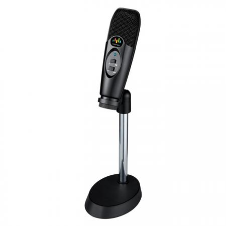USB Desktop Microphone with Low-cut and 10 dB PAD for Recording or Live Streaming - Desktop USB Microphone.