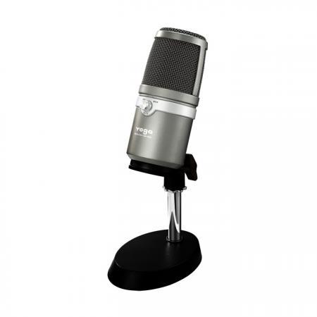 桌上型USB麥克風YGM-358U灰色。